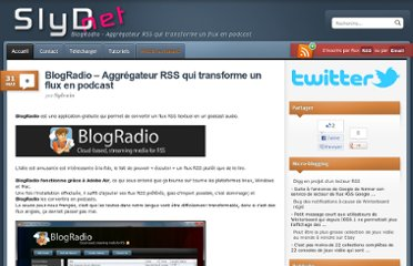 http://slydnet.com/web/blogradio-aggregateur-rss-qui-transforme-un-flux-en-podcast/