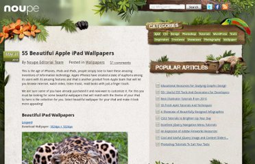 http://www.noupe.com/wallpaper/55-beautiful-apple-ipad-wallpapers.html
