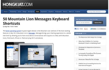 http://www.hongkiat.com/blog/osx-messages-shortcuts/