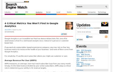 http://searchenginewatch.com/article/2198823/4-Critical-Metrics-You-Wont-Find-in-Google-Analytics