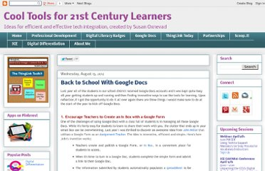 http://d97cooltools.blogspot.com/2012/08/back-to-school-with-google-docs.html