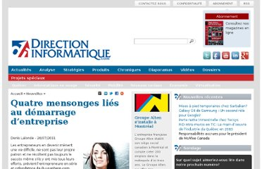 http://www.directioninformatique.com/quatre-mensonges-lies-au-demarrage-dentreprise/11760