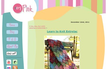 http://verypink.com/2011/12/22/learn-to-knit-entrelac/