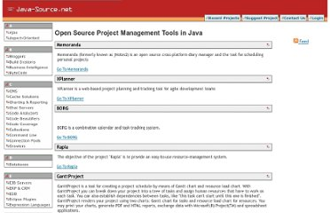 http://java-source.net/open-source/project-management