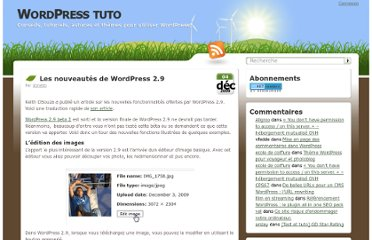 http://wordpress-tuto.fr/wordpress-2-9-1222