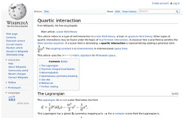 http://en.wikipedia.org/wiki/Quartic_interaction