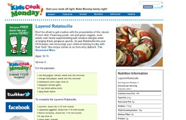 http://www.thekidscookmonday.org/2012/08/06/layered-ratatouille/