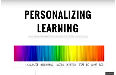 http://personalizinglearning.com/2011/11/22/sir-ken-robinson-defines-personalized-learning/