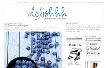 http://delishhh.com/2012/08/15/50-blueberry-recipes/