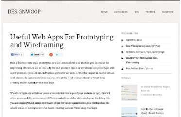 http://designwoop.com/2012/08/useful-web-apps-for-prototyping-and-wireframing/