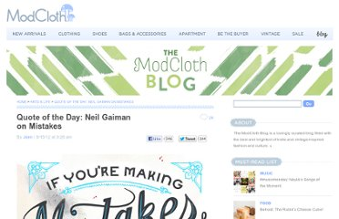 http://blog.modcloth.com/2012/08/15/quote-of-the-day-neil-gaiman-on-mistakes/#