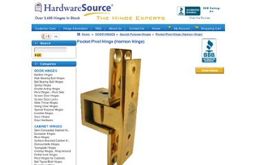 http://www.hardwaresource.com/hinges/DOOR+HINGES/Special+Purpose+Hinges/Pocket+Pivot+Hinge+%28Harmon+Hinge%29