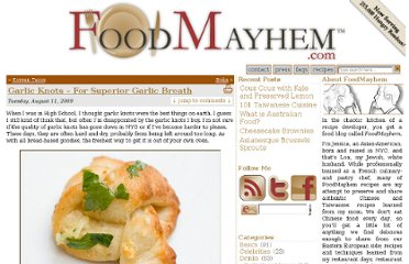 http://www.foodmayhem.com/2009/08/garlic-knots.html