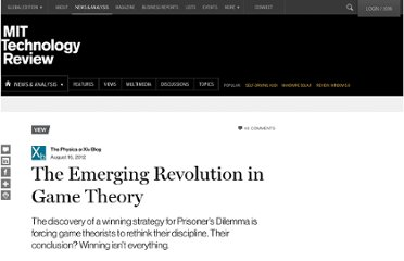 http://www.technologyreview.com/view/428920/the-emerging-revolution-in-game-theory
