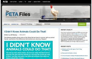 http://www.peta.org/b/thepetafiles/archive/2012/08/02/i-didn-t-know-animals-could-do-that.aspx