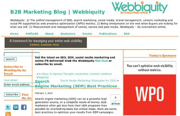 http://webbiquity.com/search-engine-marketing/search-engine-marketing-sem-best-practices/