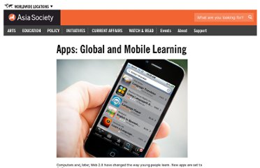 http://asiasociety.org/education/resources-schools/partnership-ideas/25-apps-global-mobile-learning