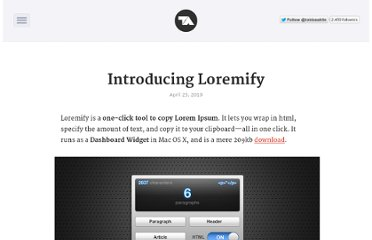 http://tobiasahlin.com/blog/introducing-loremify/