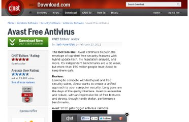 http://download.cnet.com/Avast-Free-Antivirus/3000-2239_4-10019223.html