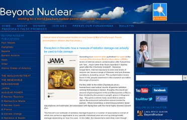 http://www.beyondnuclear.org/children-health/2012/8/17/deception-in-sieverts-how-a-measure-of-radiation-damage-can.html