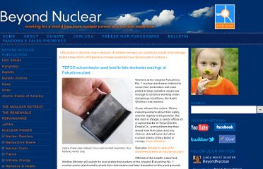 http://www.beyondnuclear.org/radiation-health-whats-new/2012/7/27/tepco-subcontractor-used-lead-to-fake-dosimeter-readings-at.html