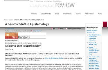 http://www.educause.edu/ero/article/seismic-shift-epistemology