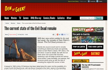 http://www.denofgeek.com/movies/the-evil-dead/18719/the-current-state-of-the-evil-dead-remake