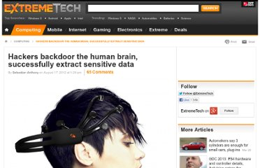 http://www.extremetech.com/extreme/134682-hackers-backdoor-the-human-brain-successfully-extract-sensitive-data