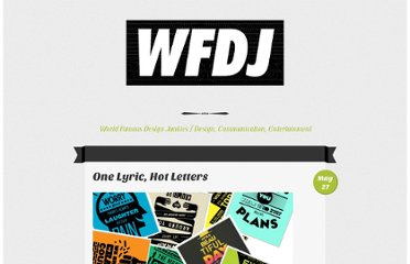 http://worldfamousdesignjunkies.com/album-art/one-lyric-hot-letters/