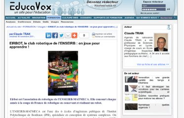 http://www.educavox.fr/formation/usages-26/EIRBOT-le-club-robotique-de-l