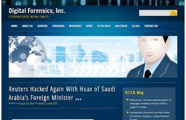 Reuters Hacked Again With Hoax of Saudi Arabia's Foreign Minister …