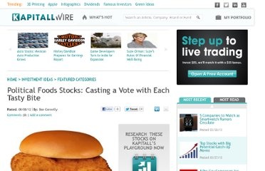 http://wire.kapitall.com/investment-idea/political-foods-stocks-casting-a-vote-with-each-tasty-bite/