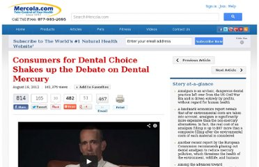 http://articles.mercola.com/sites/articles/archive/2012/08/19/charlie-brown-discusses-mercury-free-dentistry.aspx