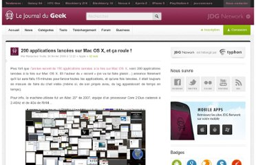 http://www.journaldugeek.com/2009/02/04/200-applications-lancees-sur-mac-os-x-et-ca-roule/