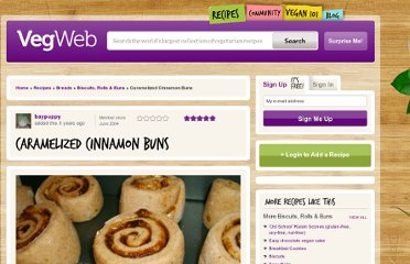 http://vegweb.com/recipes/caramelized-cinnamon-buns
