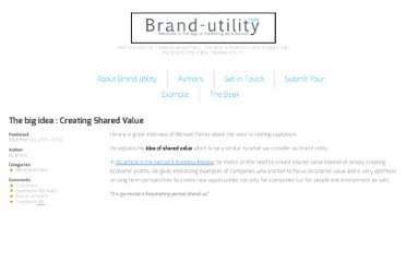 http://www.brand-utility.com/presentations/shared-value-735.htm
