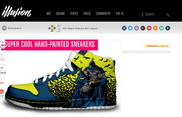 http://illusion.scene360.com/art/9449/super-cool-hand-painted-sneakers/
