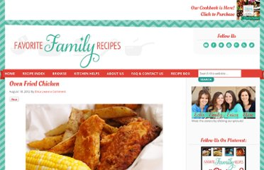 http://www.favfamilyrecipes.com/2012/08/oven-fried-chicken.html