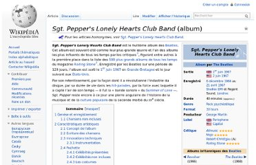 http://fr.wikipedia.org/wiki/Sgt._Pepper%27s_Lonely_Hearts_Club_Band_(album)