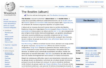 http://fr.wikipedia.org/wiki/The_Beatles_(album)