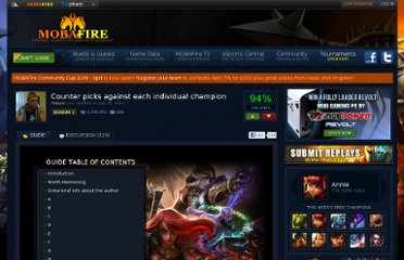 http://www.mobafire.com/league-of-legends/build/beta-counter-picks-against-each-individual-champion-177707#chapter0