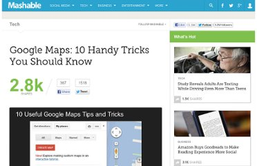 http://mashable.com/2012/08/16/google-maps-tips/#810691-Save-Your-Home-and-Work-Addresses
