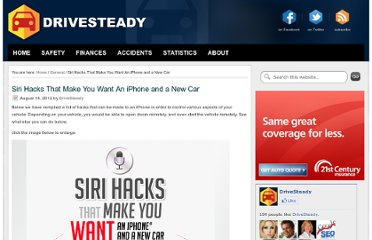 http://drivesteady.com/car-siri-hacks