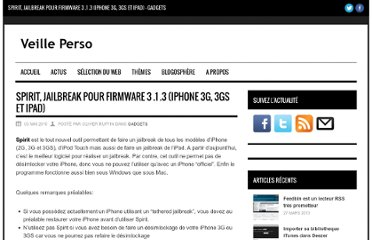 http://www.veilleperso.com/spirit-jailbreak-firmware-3-1-3-iphone-3g-3gs-ipad-4675