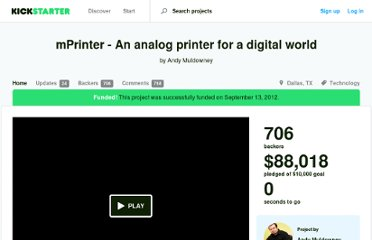 http://www.kickstarter.com/projects/1953425088/mprinter-an-analog-printer-for-a-digital-world