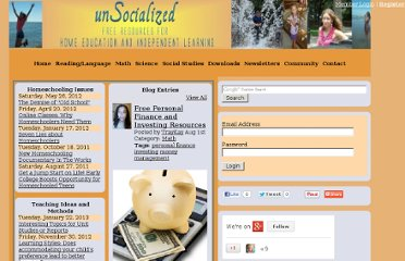 http://unsocialized.net/pt/Free-Personal-Finance-and-Investing-Resources/blog.htm