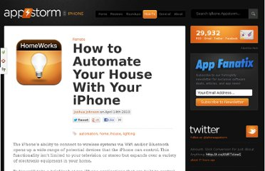 http://iphone.appstorm.net/how-to/remote/how-to-automate-your-house-with-your-iphone/