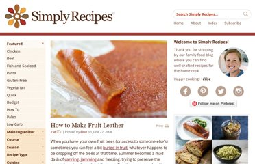 http://www.simplyrecipes.com/recipes/how_to_make_fruit_leather/