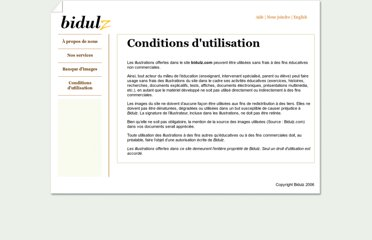 http://www.bidulz.com/conditions.htm
