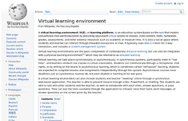 http://en.wikipedia.org/wiki/Virtual_learning_environment